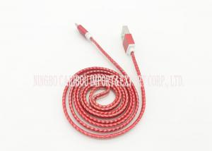 China High End Designed Android Usb Cable / Mobile Data Cable Convenient Carry on sale