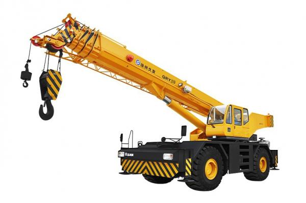Rigante Telescopic Mobile Cranes : Qry rough terrain crane mobile rt