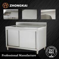 High Quantity Stainless Steel Sink Cabinet