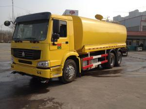 China 20000L-30000L 336hp LHD Sinotruk Howo7 6x4 10 Wheels Water Tanker Lorry on sale