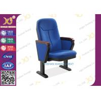 550mm Center distance pp outer auditorium chairs for lecture room , retractable auditorium seating