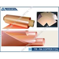China C101 Grade High Flexibility Thin Copper Foil For Thinner Smart Phone EMI / EMC on sale