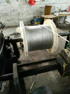 China Zinc-coated(Galvanized)Steel Wire Strand on sale