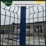 Anti - Corrosion 3D Steel Welded Wire Fence Galvanized / PVC Coated Treatment