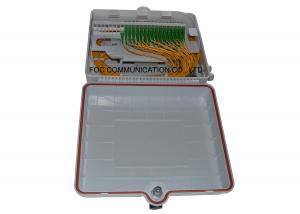 China Fiber Splitter Termination Box 48 Core Pre-loaded With 1x32 PLC ABS Module Type on sale
