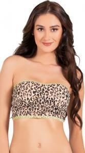 China Animal Print Lingerie Wholesale Lucky Leopard Bandeau Bra Size S,M,L Available on sale