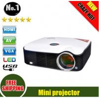 2500 Lumens LCD Projector 1080P Smart LED Portable Proyector With HDMI Cable