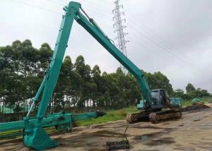 China Blue Kobelco Long Arm SK260 18 Meter 3210 Mm Fold Height CE Approved With 0.5 Cum Bucket on sale