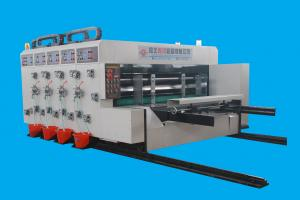 China 300mm Depth Vacuum Adsorption High-speed Steel Slotting Die-Cutting Flex Printing Machine on sale