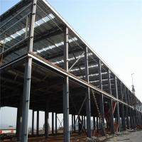 Construction Pre Manufactured Steel Buildings Workshop Workhouse Building