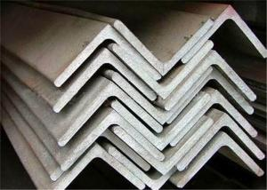 China Hot Rolled Stainless Steel Equal Angle 90 Degree Customized Length on sale
