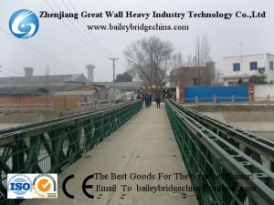 China CB321(CB100) DS Painted Bailey Bridge as Pedestrian way In China on sale