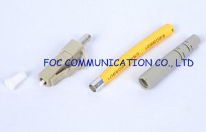 China High Return Loss multimode fiber lc connector 2.0mm / 0.9mm / 3.0mm on sale