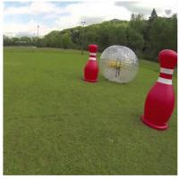 High Durability 3m Inflatable Body Zorb Ball 2 Person Capacity For Adults