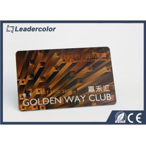 China Plastic PVC Sample rfid membership cards printing For Shopping , Club on sale