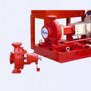 China UL Listed  FM Approved 300gpm @125psi Electric Motor Driven Fire Pump Set with Jockey Pump on sale