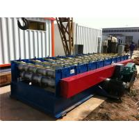 Automatic Corrugated Roll Forming Machine For 4 mm - 8 mm Steel Panel