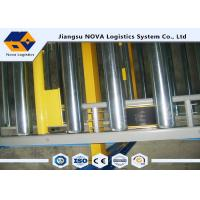 China Warehouse Storage Gravity Pallet Racking Corrosion Protection For Chemical Industry on sale