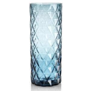 China cut crystal oval glass vase best selling on sale