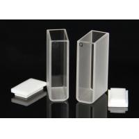 IR Micro Quartz Cuvette , Glass Cuvettes For Spectrophotometer Measuring Reflex