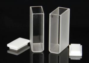 China IR Micro Quartz Cuvette , Glass Cuvettes For Spectrophotometer Measuring Reflex on sale