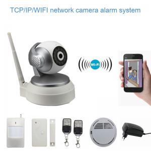 China Smart Wifi IP Camera , TCP / IP / WIFI CCTV Camera App Control on sale