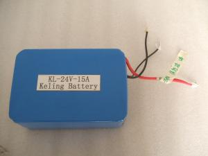 China 24V 15AH Lifepo4 Rechargeable Battery For Solar Street Light on sale
