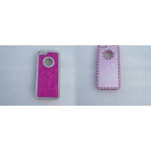 China High Strength Pink Mobile Phone / Iphone Protective Cover / Case For Girls on sale