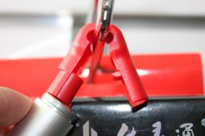 China EAS lock for slat wall hooks,EAS slat wall hook locks ,electornic accessories shop on sale