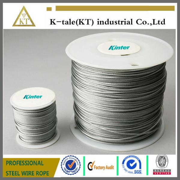 7x7,7x19,6x19+FC/IWS rope Galvanized Aircraft Cable/Stainless Steel ...