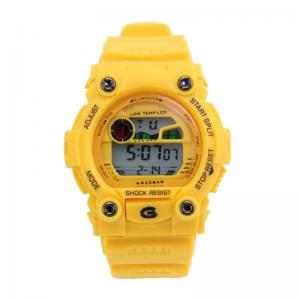 China Fashion Outdoor Childrens Digital Watches With Flash Light For Safety , Water Resistant Multifunction on sale