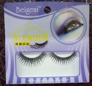 China Each pack smoky fake eyelash layered mink lash for cheap on sale