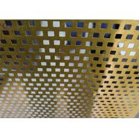 China Bright Perforated Aluminum Alloy Sheet Durable for Flooring Dewatering on sale