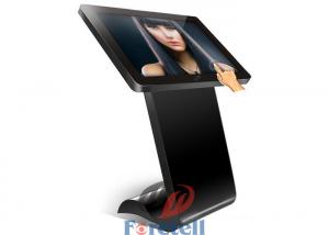 China Wireless Ultra Thin 4K LCD Display 43 Inch Floor Standing Kiosk 4000 Contrast on sale