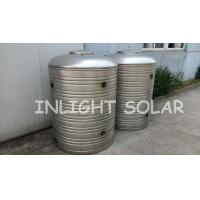 Safe Insulated Solar Water Heater Tank , 500L Solar Storage Tank With Heat Exchanger
