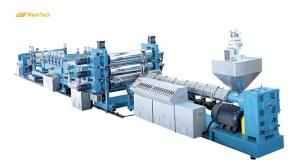 China Automatic Plastic PE Extruder Machine , PP Sheet Extrusion Machine For PP / PS / PE on sale