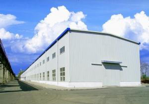China Hot Rolled Q345B Metal Warehouse Building With Storage Function on sale