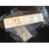 MgGd10 Magnesium Gadolinium alloy ingot to adjust the properties of metal