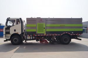 China High Efficient Special Purpose Truck , 4x2 Multifunctional Strong Power Road Cleaning Sweeper on sale