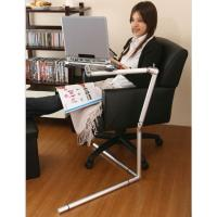 Office Portable Adjustable Tablet Floor Stand Holder for iPad Samsung N8000 P5100 T310