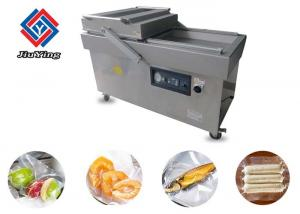 China Double Head Automatic Vacuum Packing Machine For Meat Or Vegetable on sale