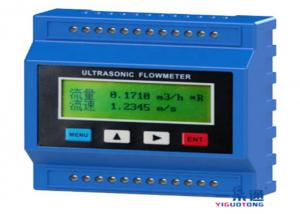 China Grade Gas Ultrasonic Sensor Fuel Flow Meter , Lightweoght Portable Flow Meter on sale