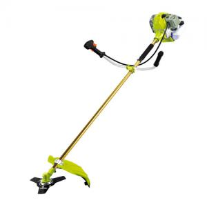 China Strong power 43cc Petrol brush cutter with nylon and metal blade on sale