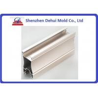 China Anodizing Aluminum Extrusion Profiles Architectural Decorative Snap Button Frame on sale