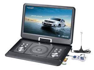 China LCD Screen Monitor Portabl DVD Game Player with Analog TV, USB, SD / MMC / MS Card Reader on sale