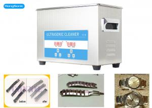 China 150W 4.5L Heated Digital Ultrasonic Cleaner For Watch Repair Shop on sale