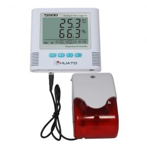 China Plastic Temperature And Humidity Data Logger For Medical Warehousing Pharmacy Drugstore on sale