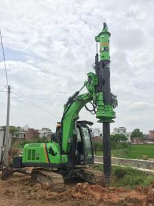 China Small Rotary Piling Rig for Different Construction Stratum , Hydraulic Drilling Rig on sale