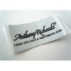 China custom clothing labels sewing personalized name labels for kids on sale