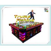Metal Cabinet Fish Table Game Trump Fish Hunter Machine 12 Months Warranty